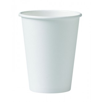 ** SPECIAL OFFER**   SOLO/ DART  premium Hot Paper Cups 12 oz  - White Single wall cs 1000