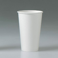 Hot Paper Cups 16 oz - White