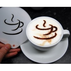 Coffee Stencils - Coffee Cup