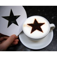 Coffee Stencils - Star