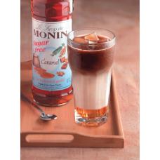 Monin Sugar Free Syrup - Caramel (1ltr)