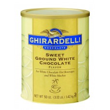 Ghirardelli Sweet Ground White Chocolate Powder 3lb